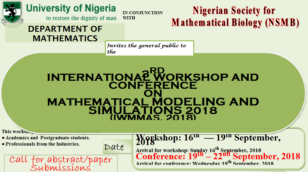 3rd International Workshop and Conference On